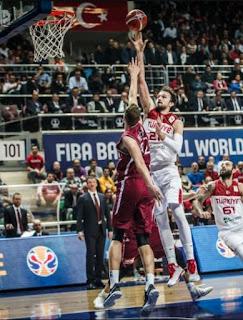Türkiye - Letonya Sertaç Şanlı