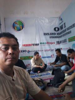 IWO Indramayu Gelar Aksi Galang Dana Peduli  Gempa NTB