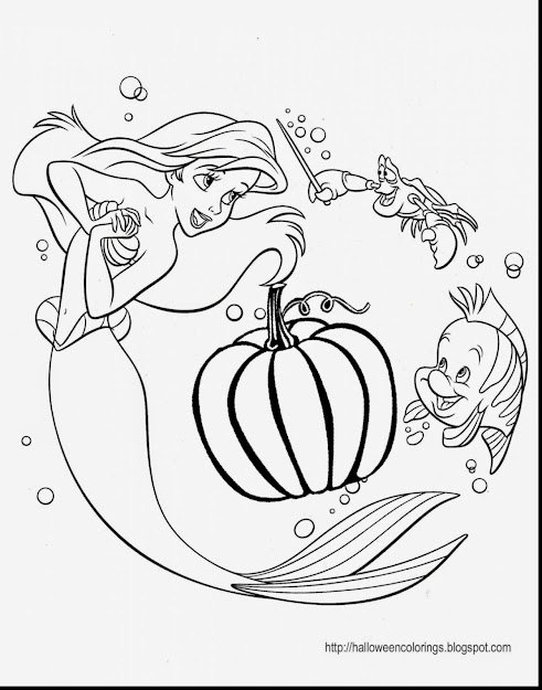 Astonishing Disney Princess Halloween Coloring Pages With Princess Ariel  Coloring Pages And Princess Ariel Dress Coloring