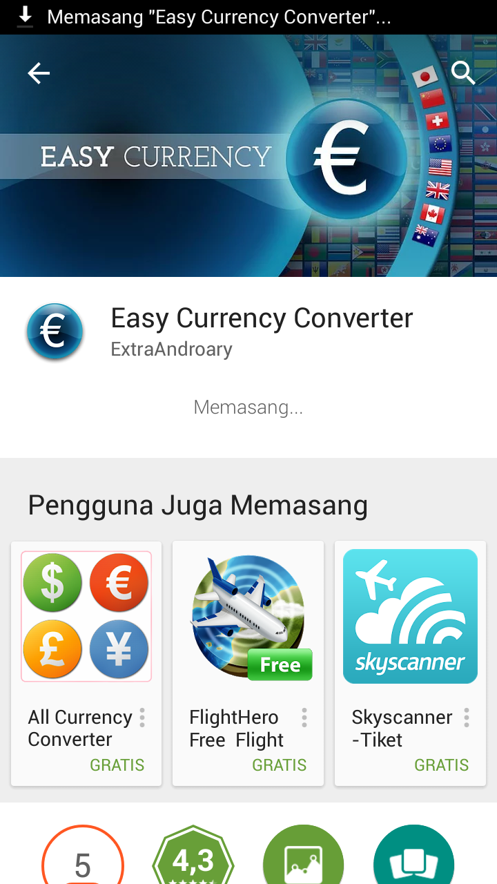 aplikasi money currency