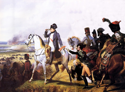 """Ground I may recover, time never."" – The Battle of Wagram"