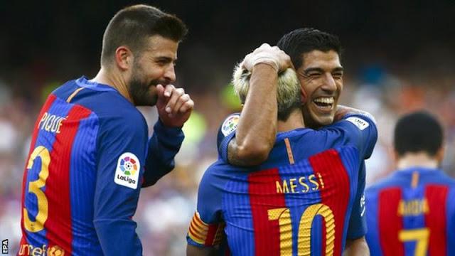 Hasil Liga Spanyol Barcelona 6-2 Betis: Luis Suarez cetak hat -trick