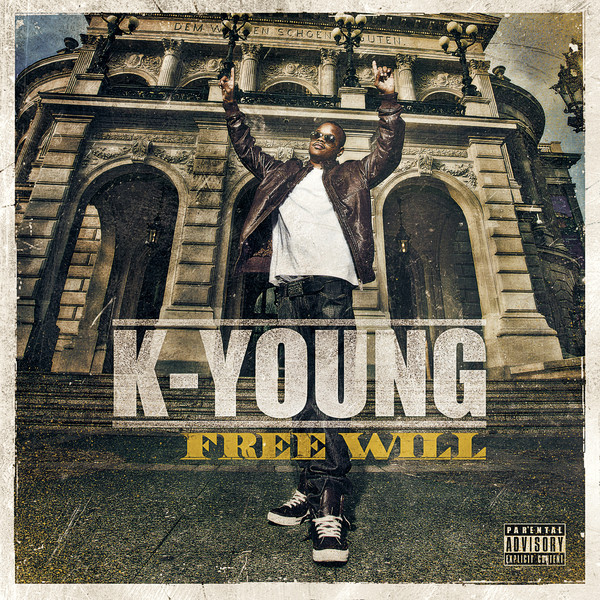 K-Young - Free Will [Album] Cover