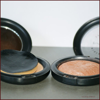 MAC, select sheer powder pressed, mineralazed skinfinish
