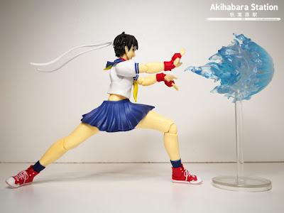 S.H.Figuarts Sakura Kasugano de Street Fighter - Tamashii Nations