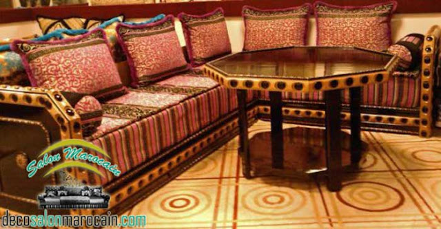 Salon marocain / salon marocain traditionnel design 2017