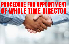Procedure-Appointment-Whole-Time-Director