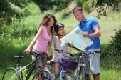 Mappe di piste ciclabili per andare in bicicletta in Italia