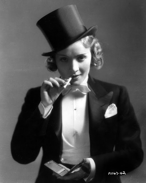 Marlene Dietrich as Amy Jolly in Morocco (1930)