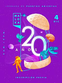 POSTER MALOKA ¡Celebra 20 AÑOS!