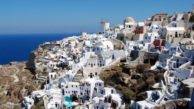 Dicas para alugar um carro na Grécia - Santorini