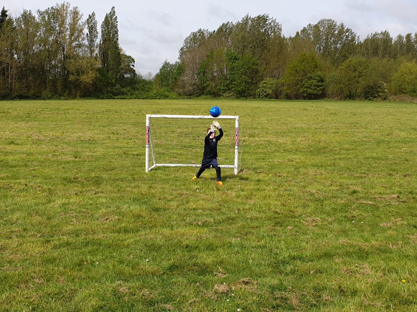 Our Sunday Photo | Goalkeeper Practice