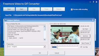 Công Cụ Miễn Phí Chuyển Đổi Video Thành Ảnh Động - Freemore GIF Converter - Top5Free