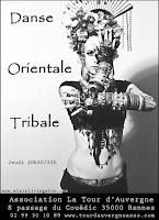 Danse Tribale Tribal Fusion ATS Rennes Bretagne France