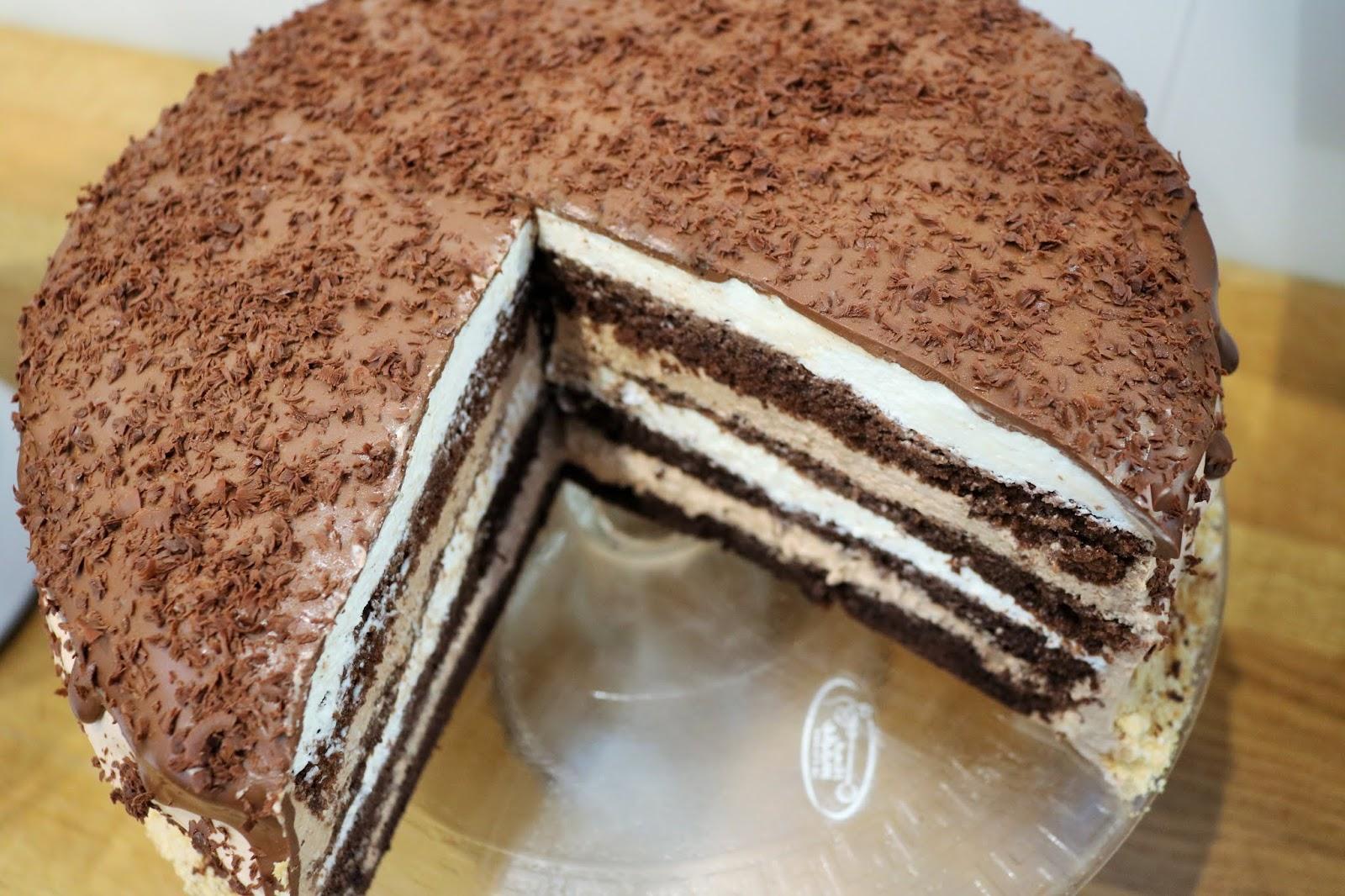 przepis na tort czekoladowy