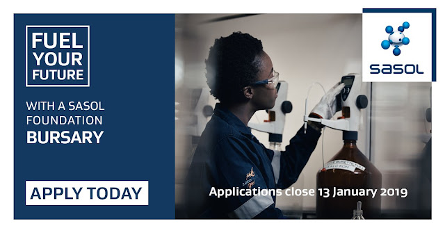 apply for a sasol bursary
