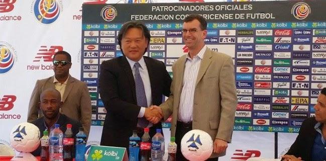Costa Rica deja tirada a Lotto por New Balance