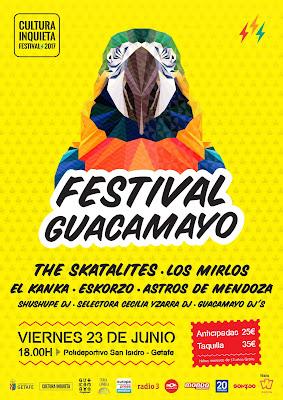 The Skatalites, Festival, Guacamayo, Cultura Inquieta, Madrid