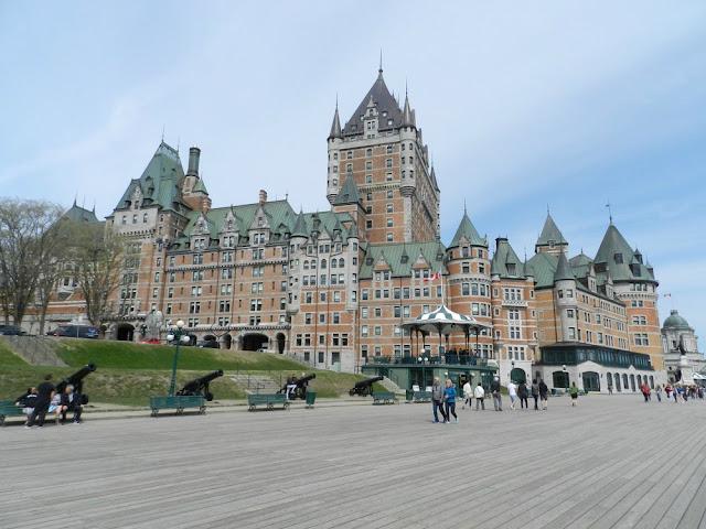 Roteiro 18 dias de trem pelo leste do Canadá - Chateau Frontenac, Quebec