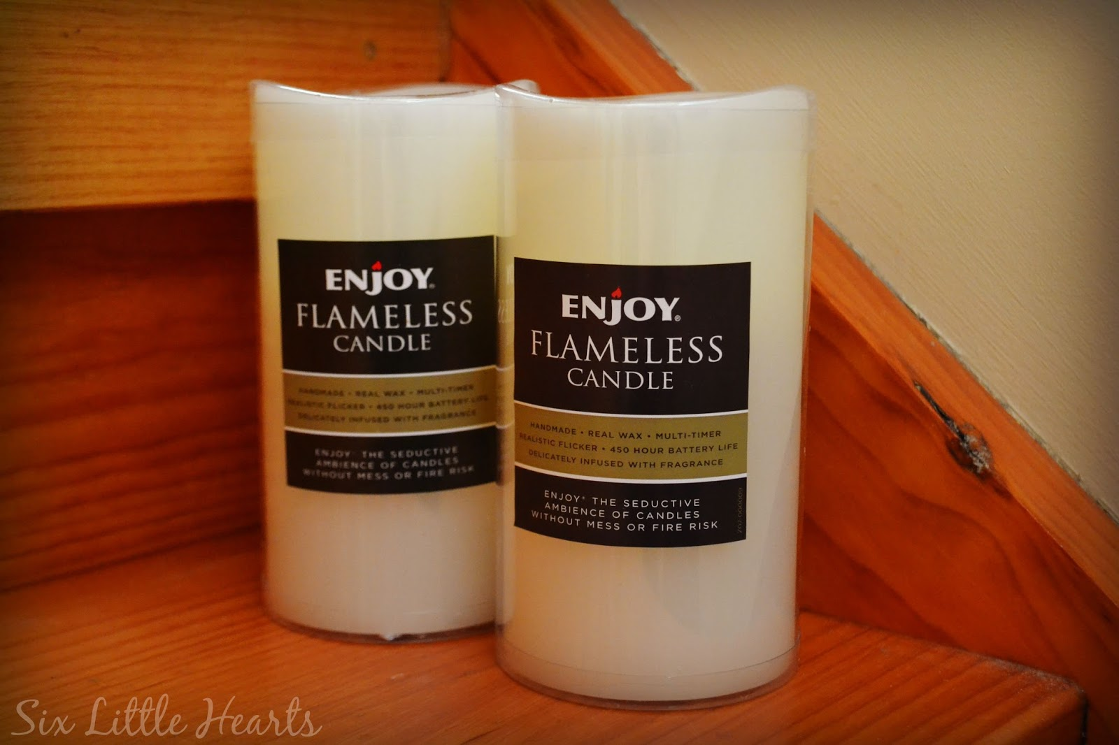 Enjoy Lighting Flameless Wax Candles