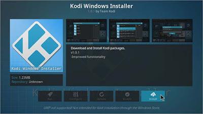 Select Windows Installer