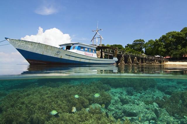 Wisata Pulau Siladen Manado