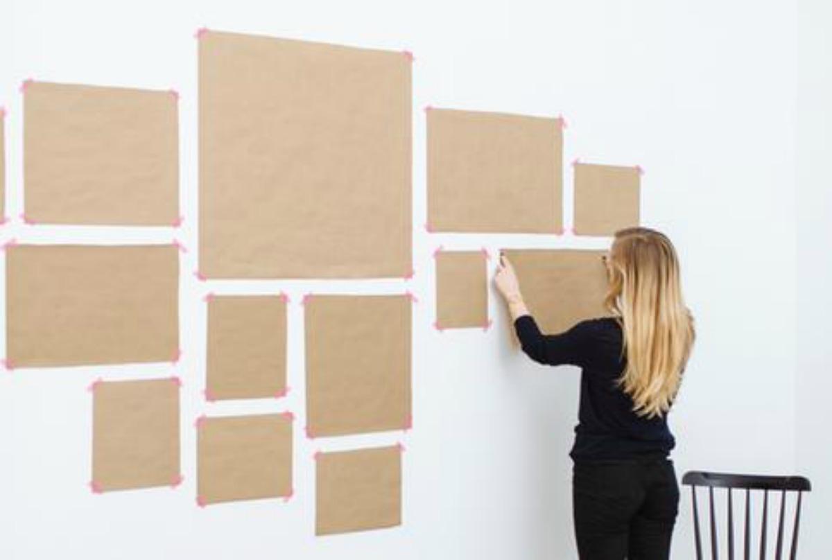 Decorar paredes: cómo crear una galería e imprimibles gratis ...