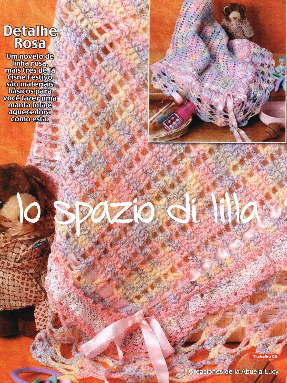 All Knit Stitch Baby Blanket : lo spazio di lilla: Schemi gratuiti di copertine ai ferri e alluncinetto...