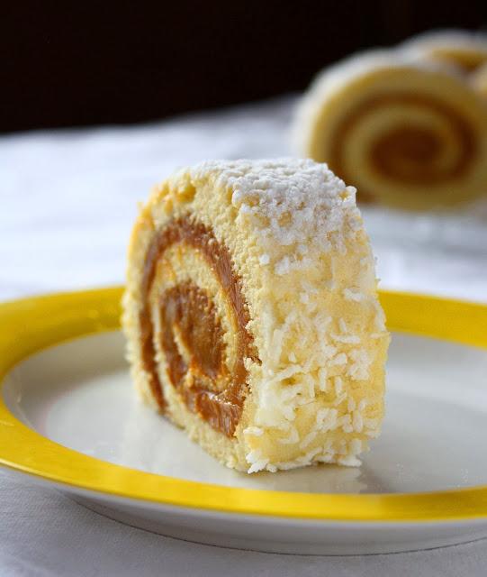Dulce De Leche Cake Roll Recipe