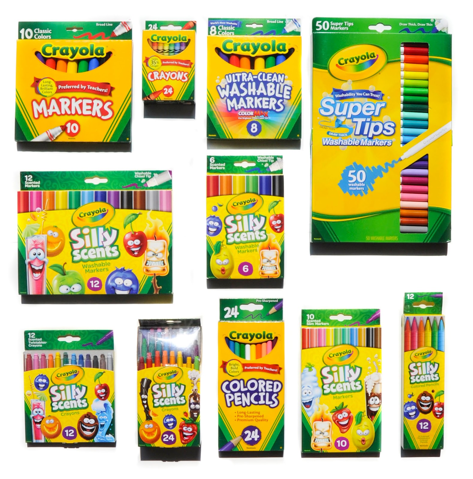 25 ways to use crayola supplies and silly scents in the classroom