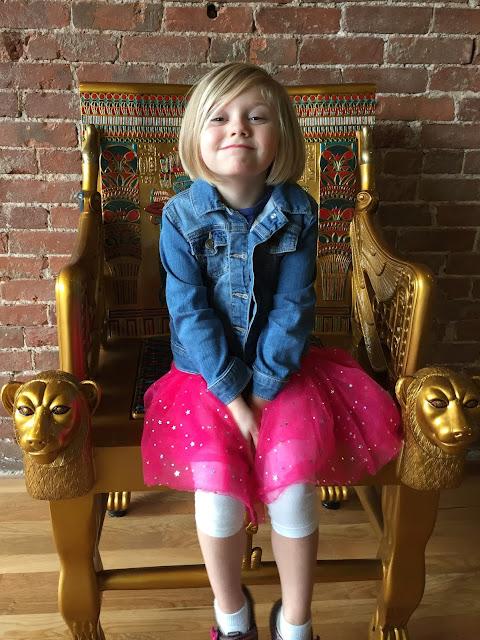 Stella on Her Throne