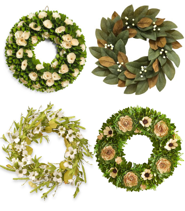 Neutral Colored Spring Wreaths