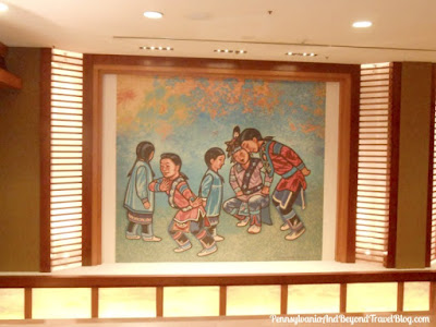 Native American Artwork at the Seneca Niagara Resort & Casino