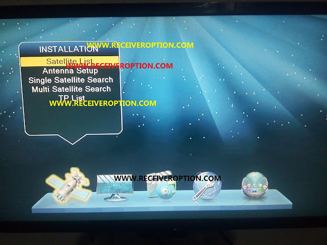 ALI 3510C SONY NETWORK NEW SOFTWARE WITH NEW MENU STYLE
