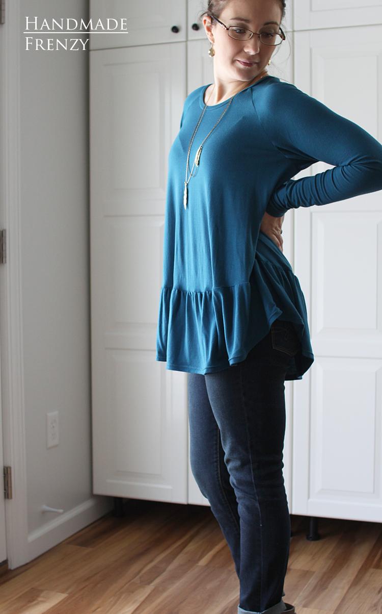 Women's Waterfall Raglan // NEW Pattern Release // Sewing For Women