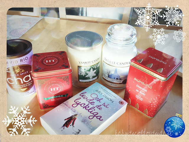 yankee candle, white christmas, sparkling snow, harney & sons, monbana, david rio chai, Lucy Dillon