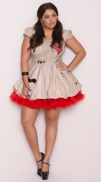Yandy Plus Size Voodoo Doll Vixen
