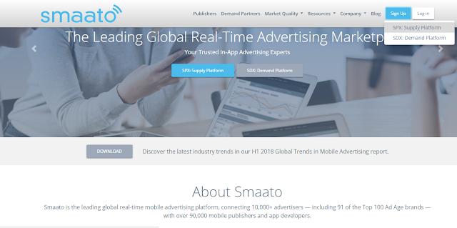 Cara Daftar Smaato, Alternatif Google Adsense Mobile (Admob)