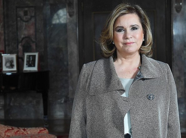 Grand Duchess Maria Teresa Celebrates her 61st Birthday today. Maria Teresa, Grand Duchess of Luxembourg