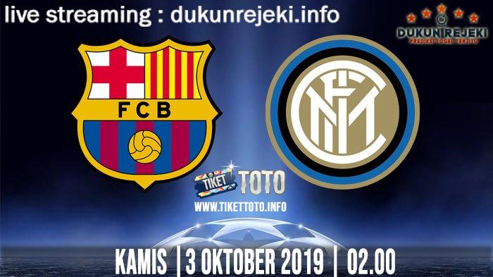 Prediksi UEFA Champions Barcelona Vs Inter 3 Oktober 2019