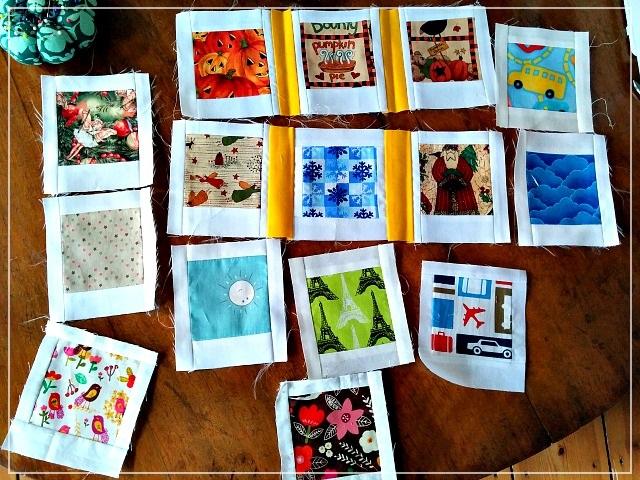 Patchwork, Polaroid Photos, Puppilalla,