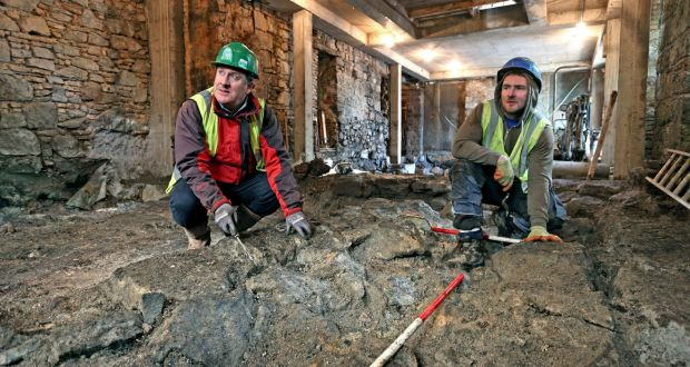 Galway's 'missing' 13th century castle found in medieval quarter