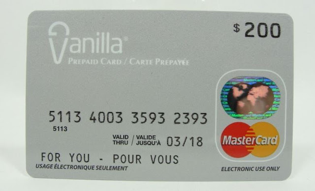 Moneyness: Prepaid debit cards. The other anonymous payments method