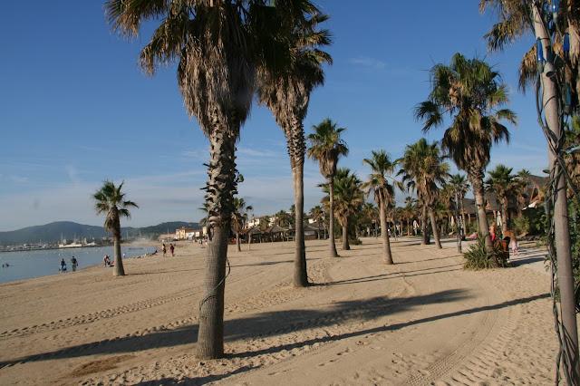 La spiaggia del Villaggio Les Prairies de la Mer