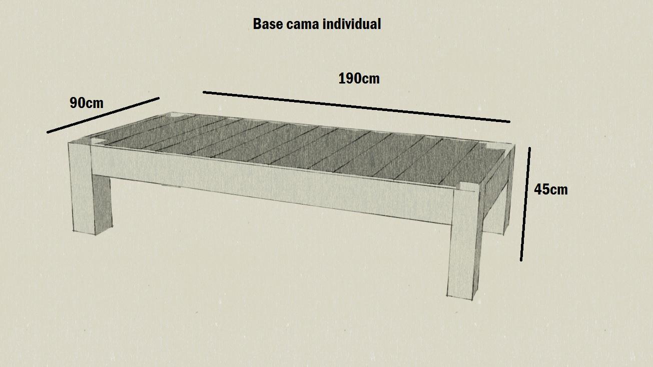 Ideas artswood for Como hacer una base de cama