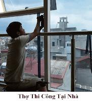 Thợ dán decal dán kính tận nhà