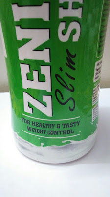 Zenith Nutrition Slim Shake Packaging