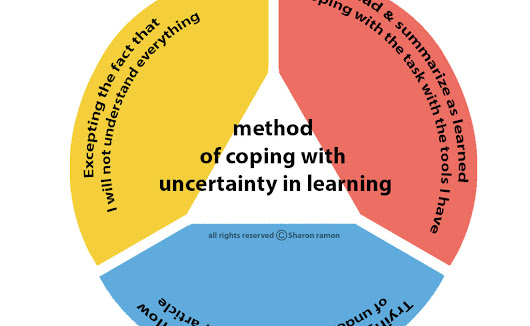 The model of coping with uncertainty while solving problems, challenges and high volume tasks