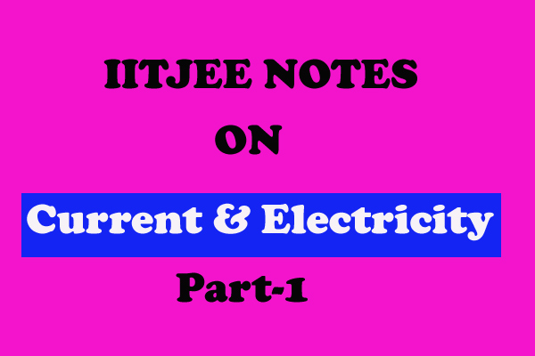 Current And Electricity