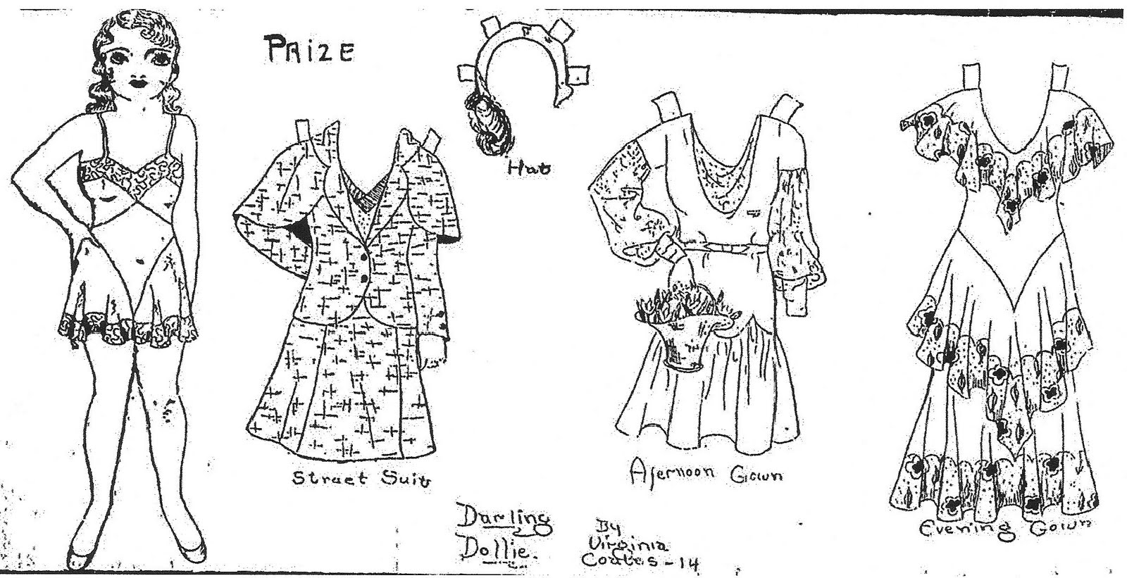 Mostly Paper Dolls: July 2011